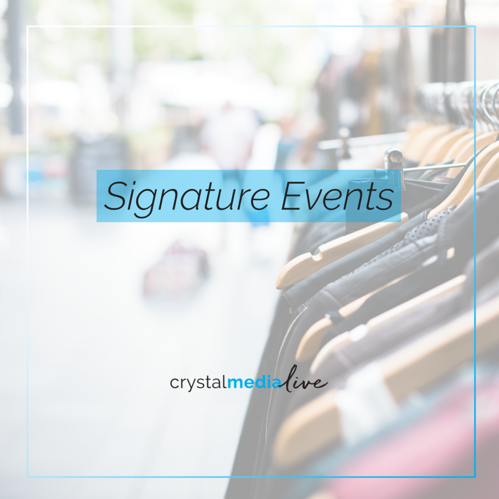 creating signature events for your store
