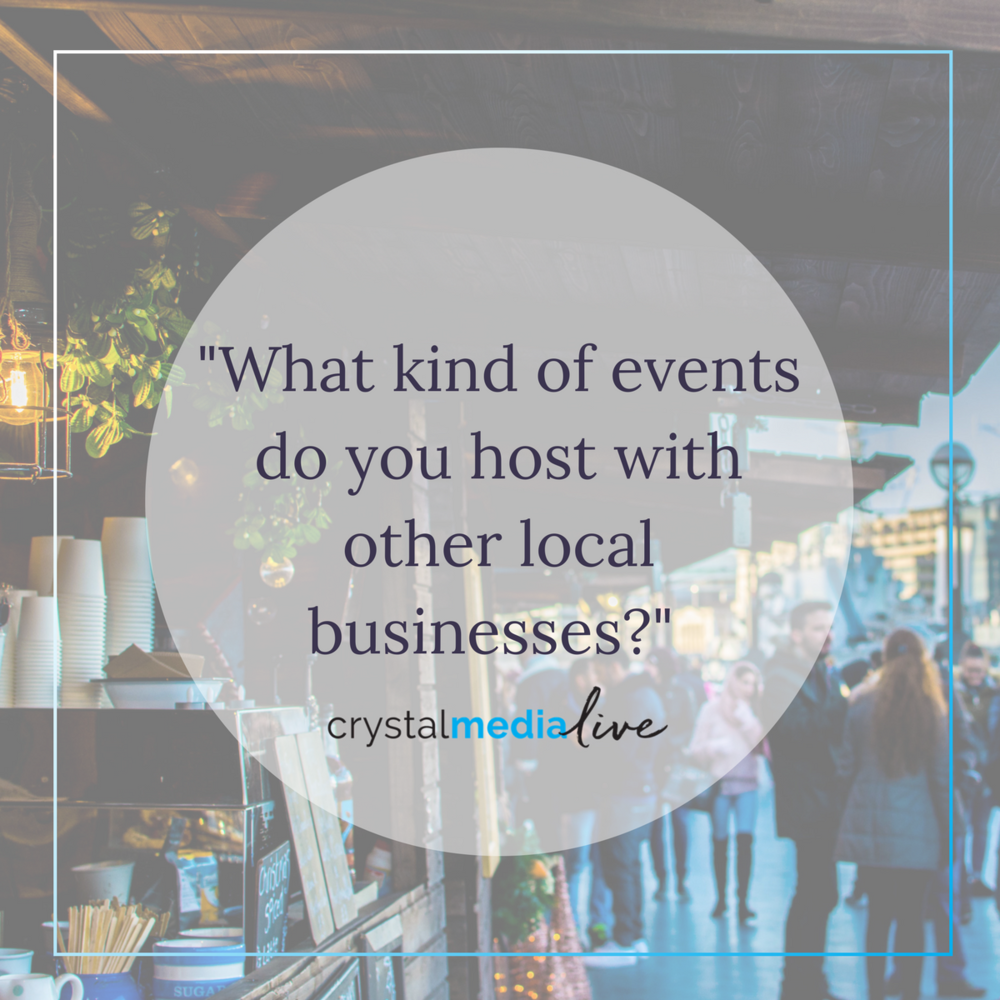 marketing local events