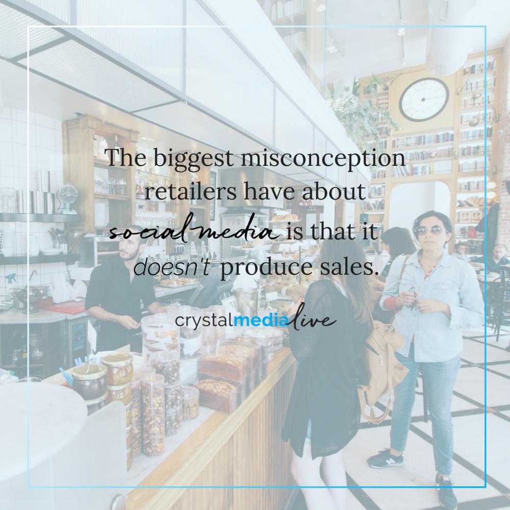misconception retailers have about social media
