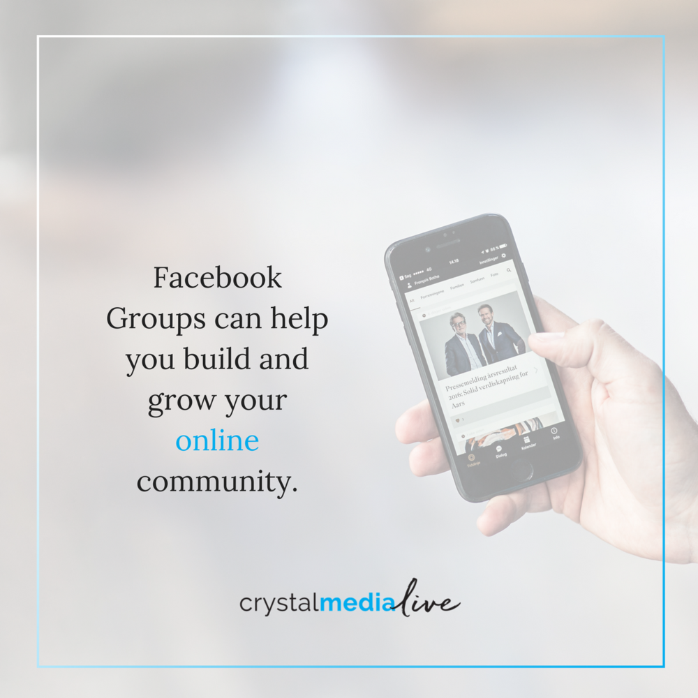 Facebook groups can help grow your retail business