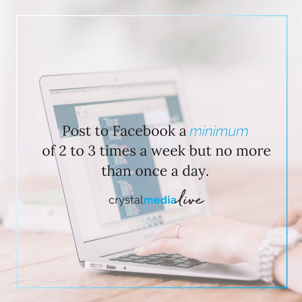 how much to post on facebook as a retailer
