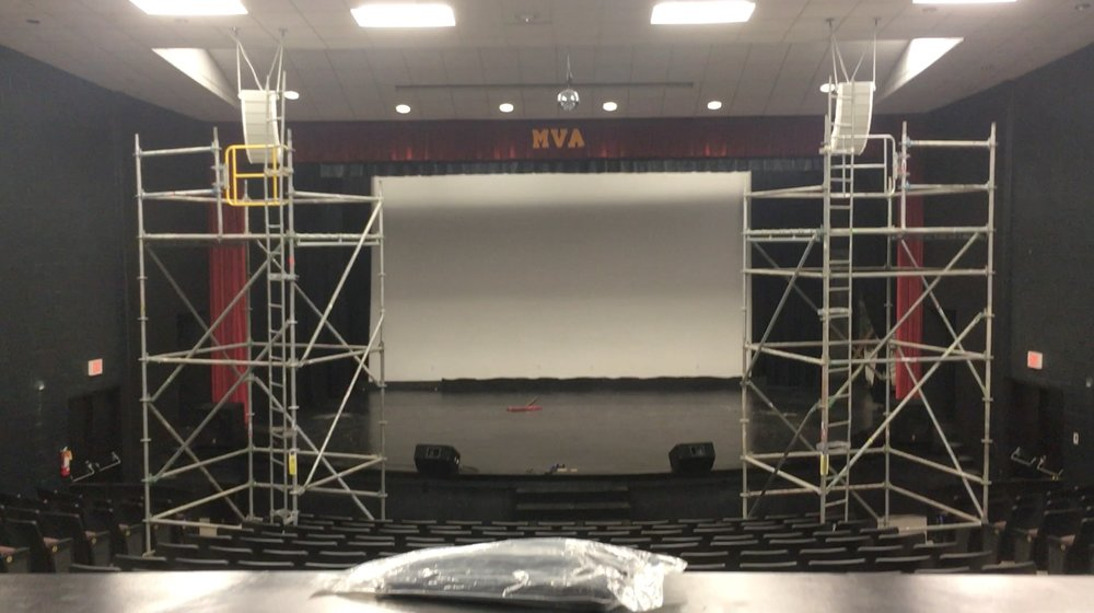 Full Audio System upgrade for MVA Theatre