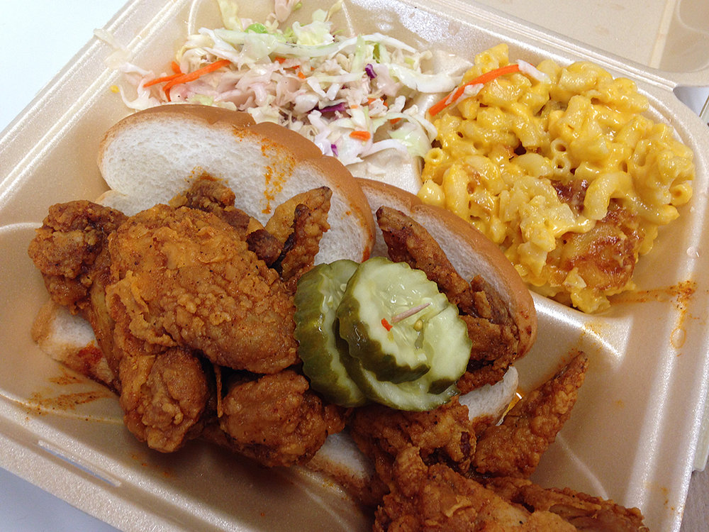 Hot Chicken Takeover Food