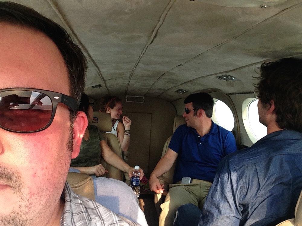 Inside Charter Flight Royal Zambezi Lodge