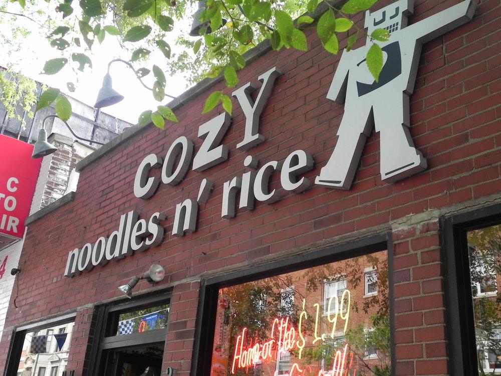 Cozy Noodles n' Rice