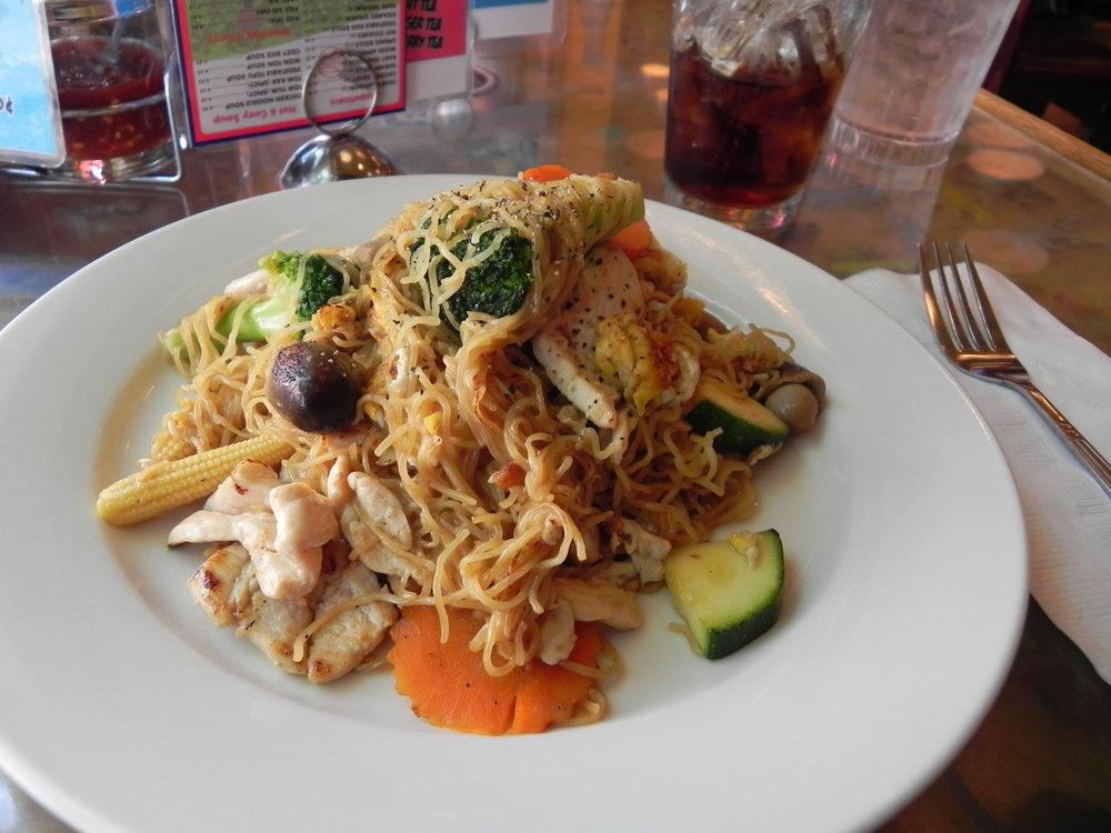 Noodles at Cozy Noodles n' Rice