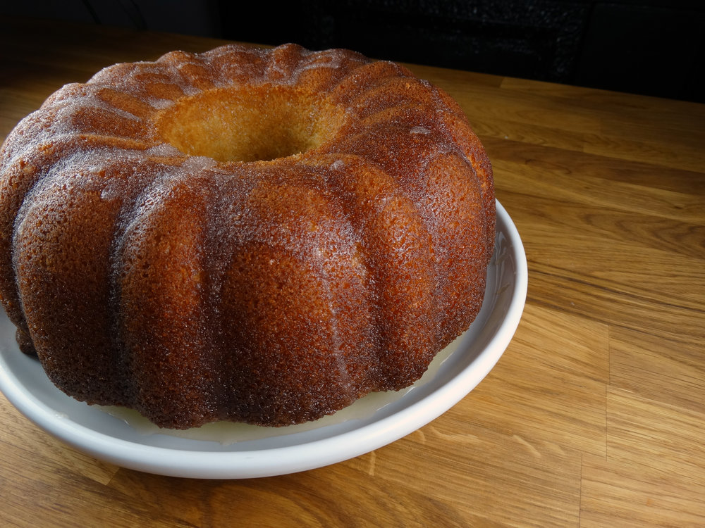 Bourbon Butter Bundt Cake