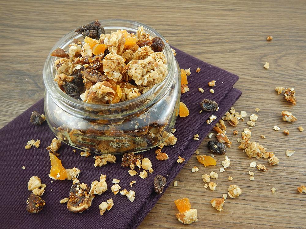 Almond and Fruit Granola
