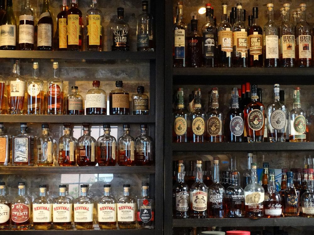 Whiskey at Bar at Husk