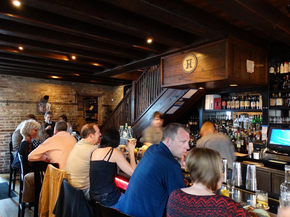 Inside Bar at Husk