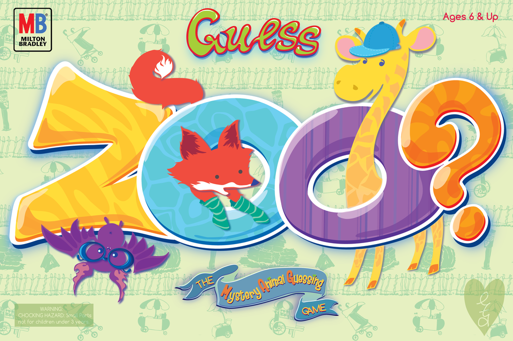 Guess Zoo packaging concept