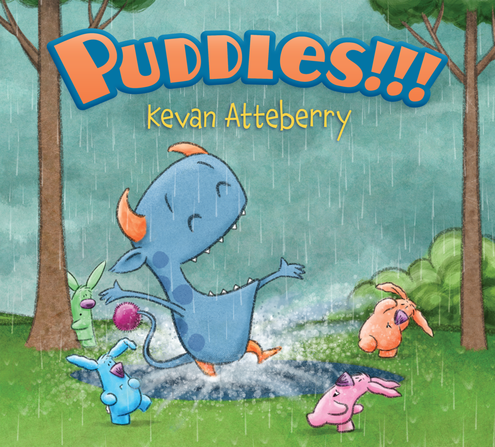Puddles!!! by Kevan Atteberry
