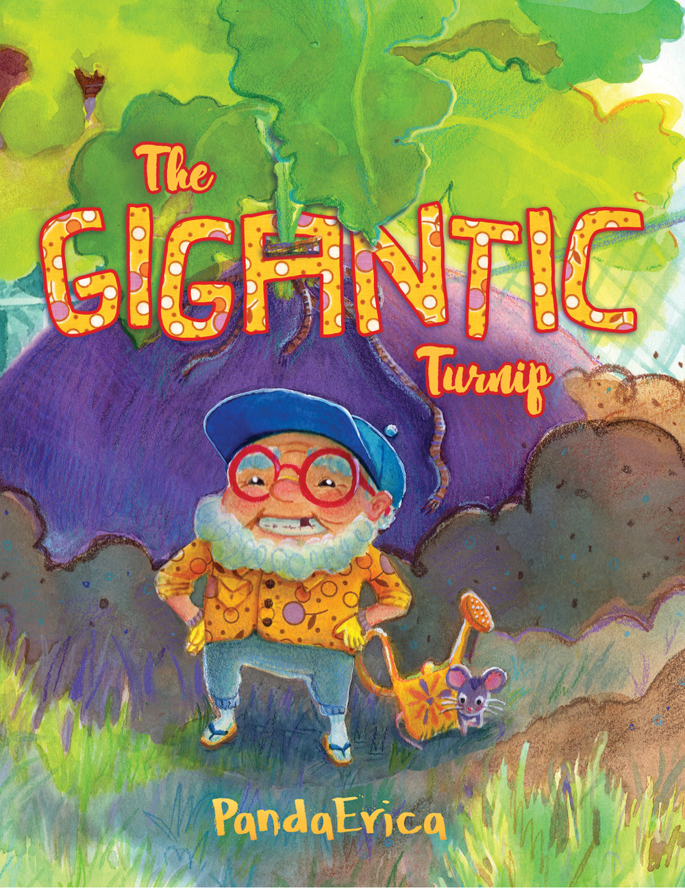 The Gigantic Turnip - Cover