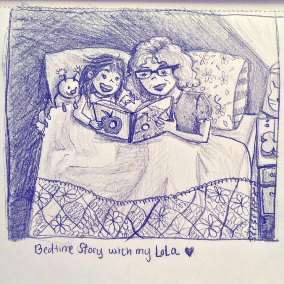 Bedtime Story With My Lola