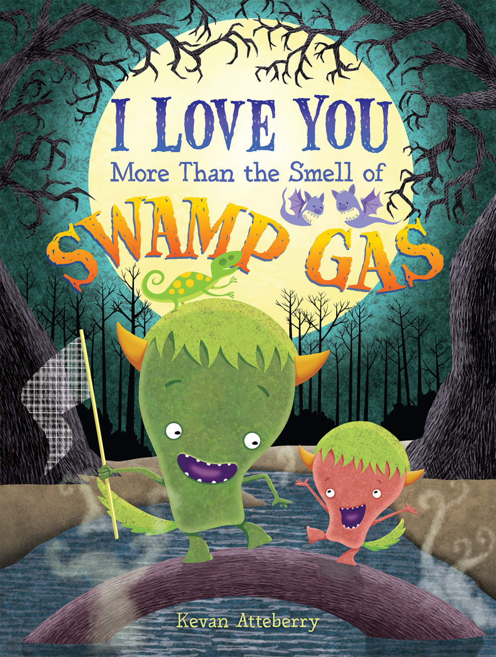 I Love You More Than the Smell of Swamp Gas cover