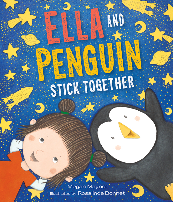 Ella and Penguin Stick Together cover