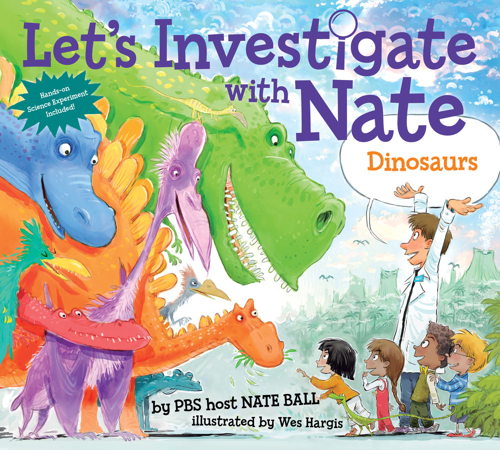 Let's Investigate With Nate #3: Dinosaurs cover