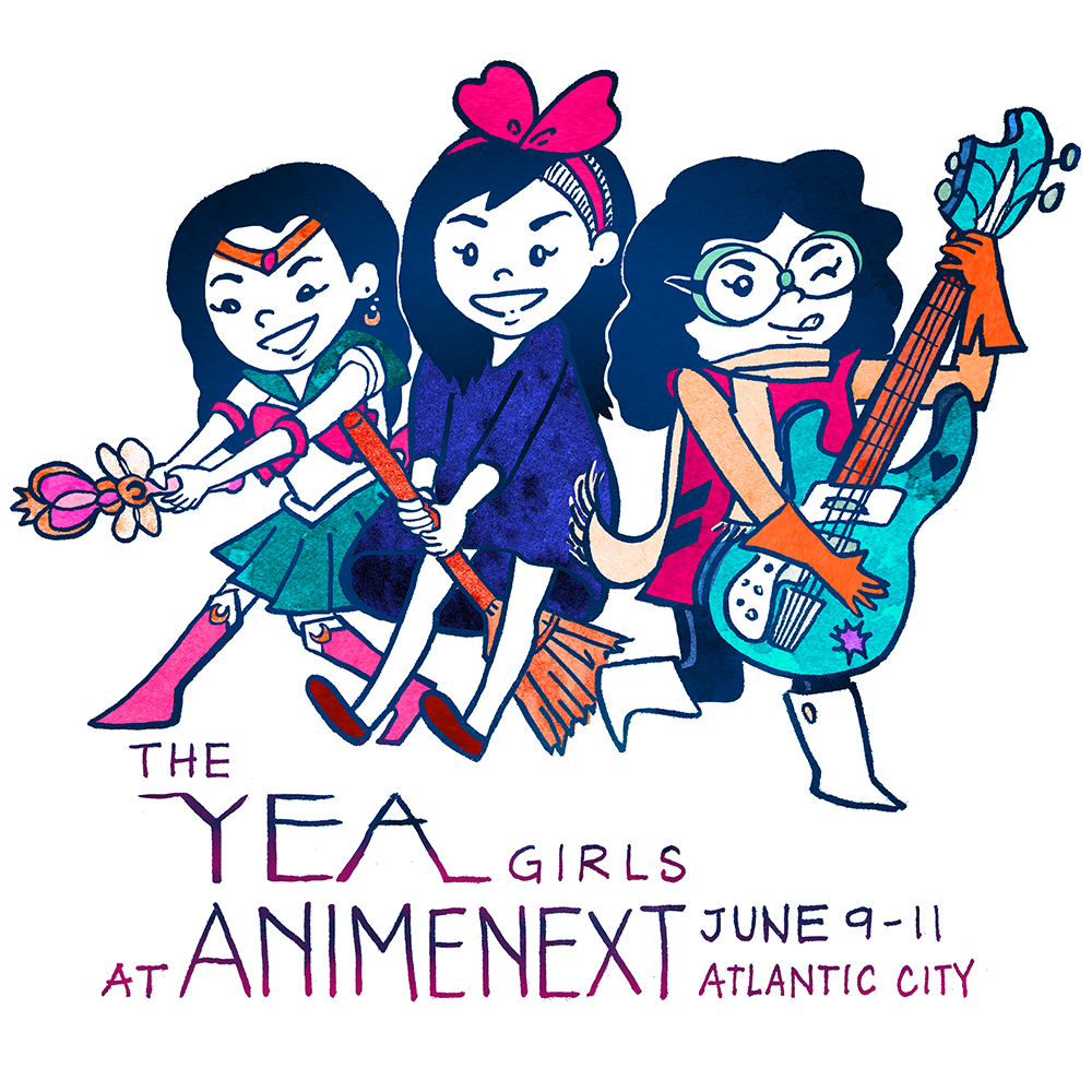 The YEA Girls: AnimeNext