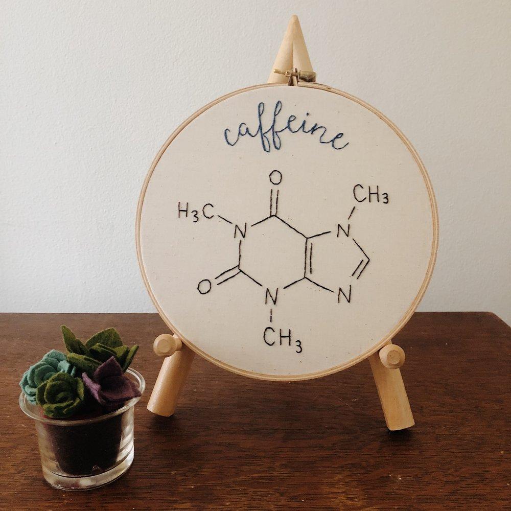 caffeine molucule wall hoop