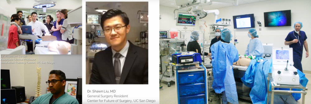 We interviewed doctors, medical students and professors in the UC San Diego School of Medicine, Simulation Training Center and VA Hospital to understand problems faced by trainees learning epidural procedures.  (Snippets of interviews in the video)
