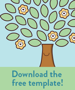 Free Craft: Acts of Kindness Tree