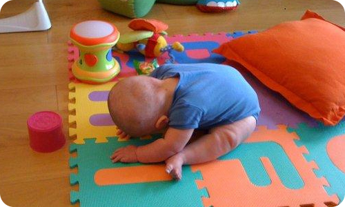 Yoga Poses for Babies