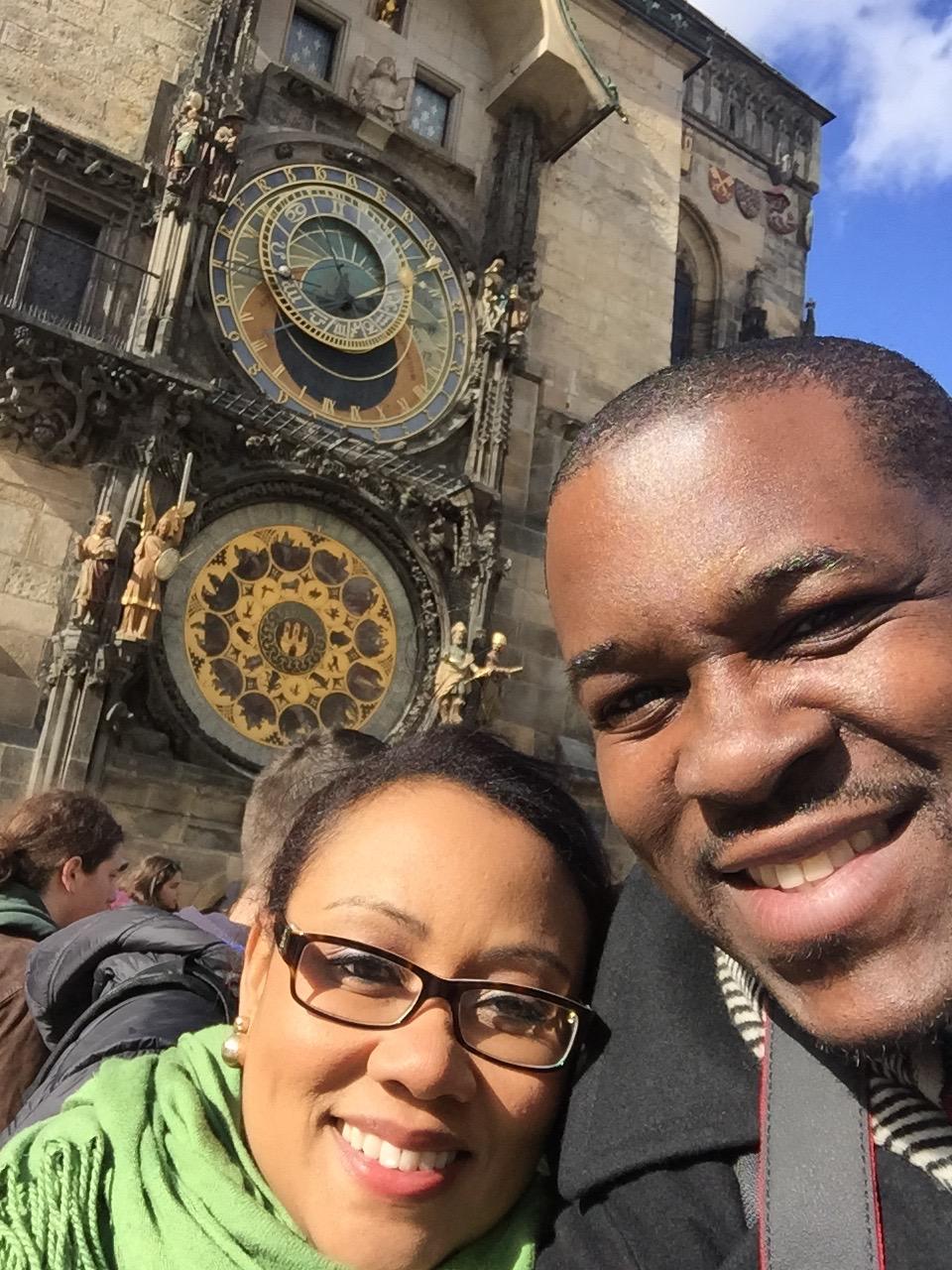 The Prague orloj or Prague Astronomical clock.
