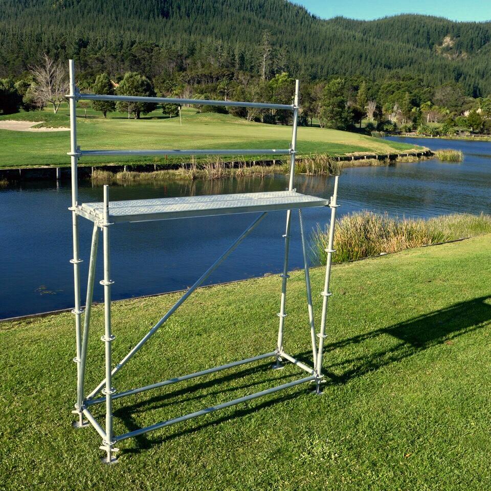 Single Bay 2.57m starter scaffold kit