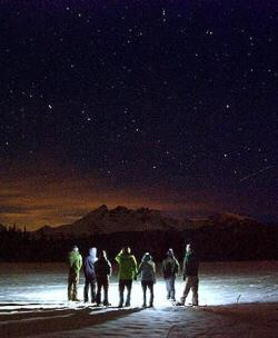 Moonlight, Starlight and Snowshoe Tour from Wanderlust
