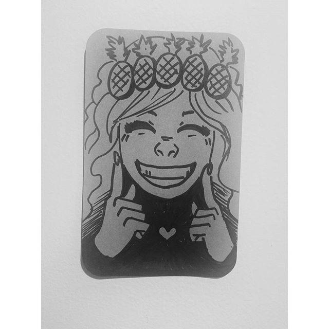It's me, the🍍👑 by @akinofukawa 😁