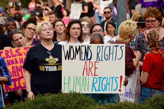Photo Credit. Bestofneworleans.com. Retrieved 1/22/17. http://www.bestofneworleans.com/gambit/womens-march-new-orleans-and-march-for-revolution/Slideshow/3096069/3096100