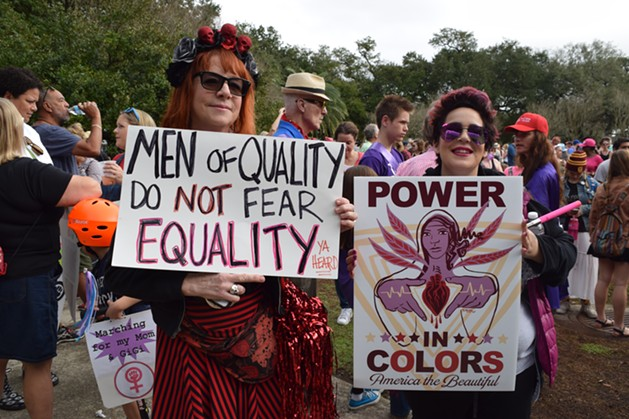 Photo Credit: Bestofneworleans.com. Retrieved 01/22/17. http://www.bestofneworleans.com/gambit/womens-march-new-orleans-and-march-for-revolution/Slideshow/3096069/3096081