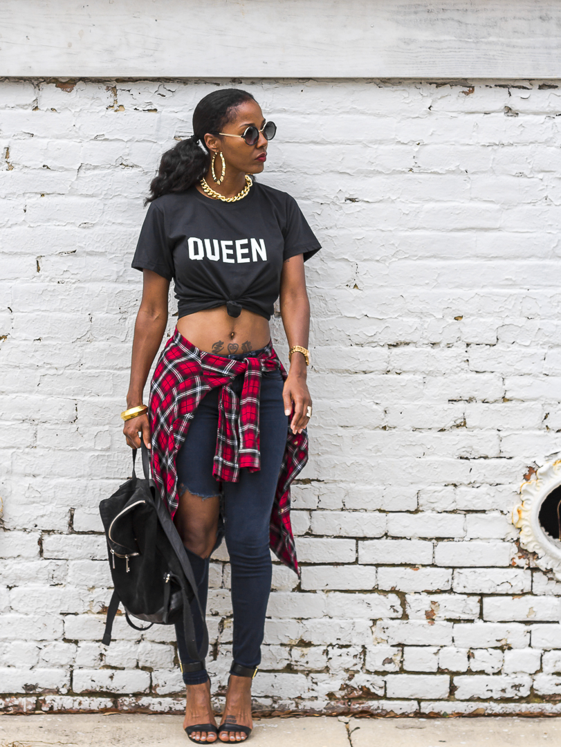 HYPEBLVD Queen t-shirt