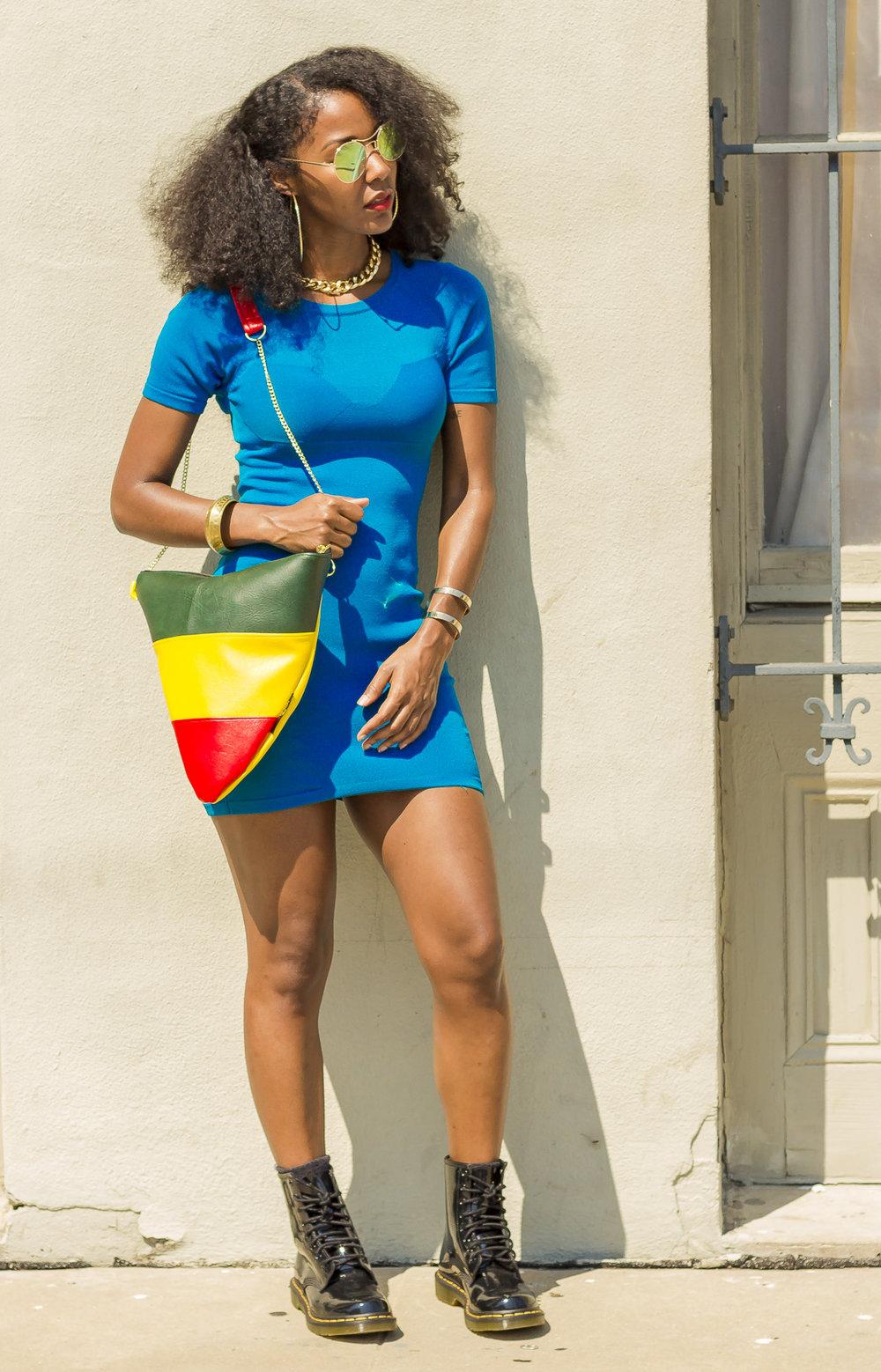 Afrocentric Crossbody Bag