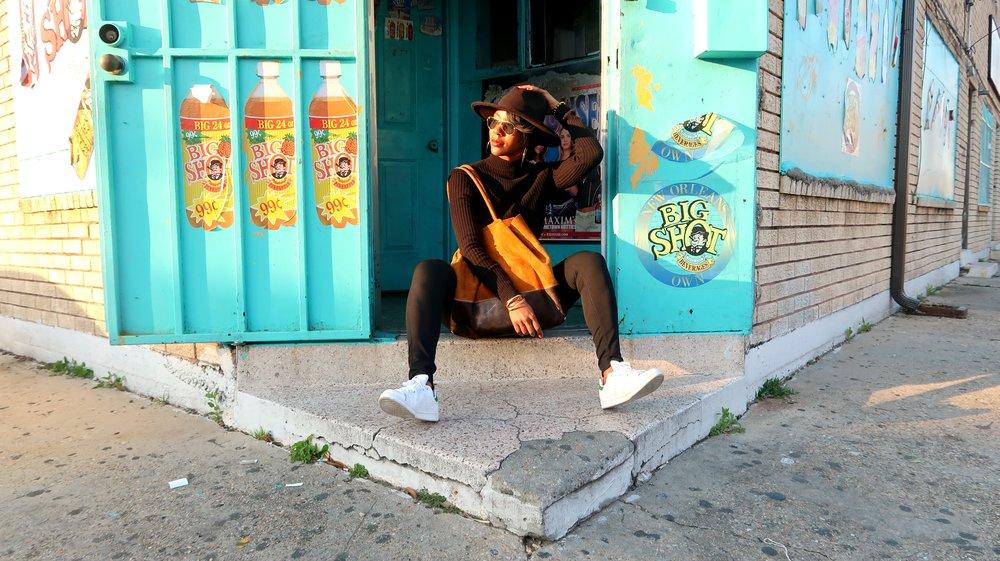 New Orleans Street Style by Blogger Samjah Iman