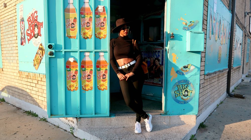 Standishlee Black Felt Hat New Orleans Fashion Blogger