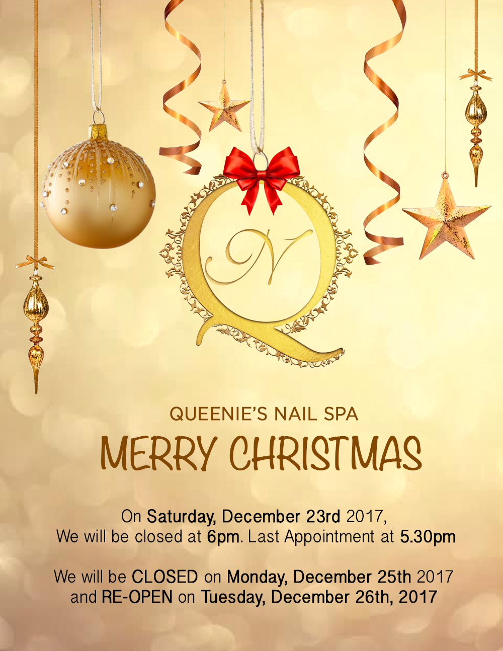 New Events — Queenie\'s Nail Spa