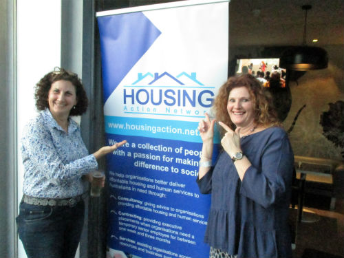 Network clients at our drinks reception held as part of the National Housing Conference, Perth