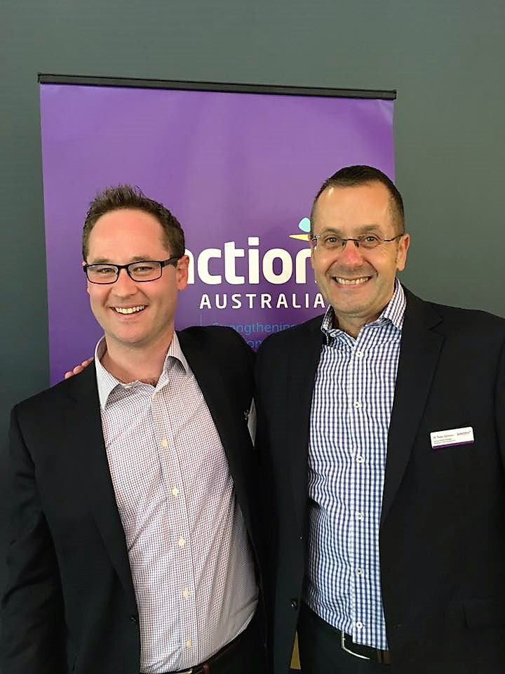 In 2016 Tony took over the role of General Manager at Junction Australia, as Scott Langford moved as new CEO of SGCH in NSW