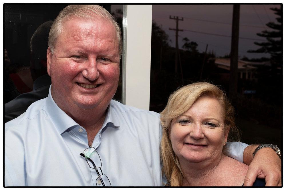 Wayne and Donna