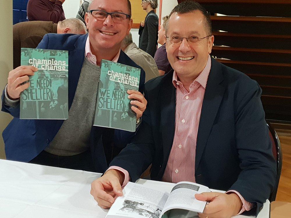 Book launch, September 2018