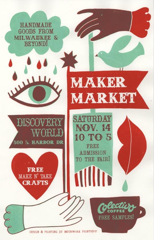 Maker Market Poster November 2015