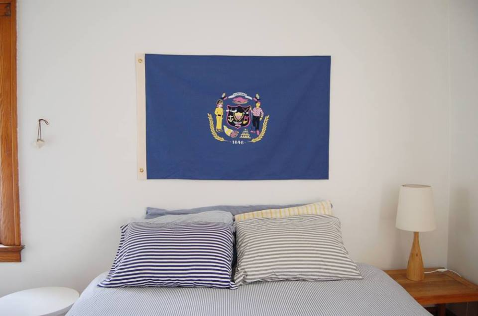 Wisconsin Flag (collaboration with Cortney Heimerl)
