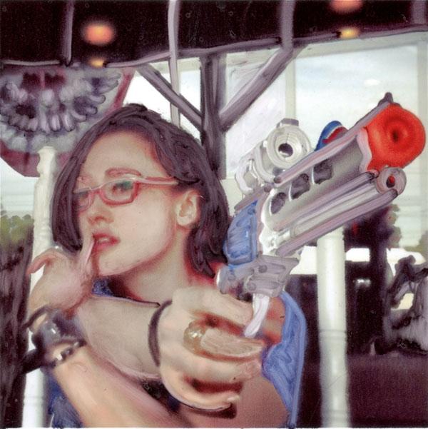 Lazer gun chic