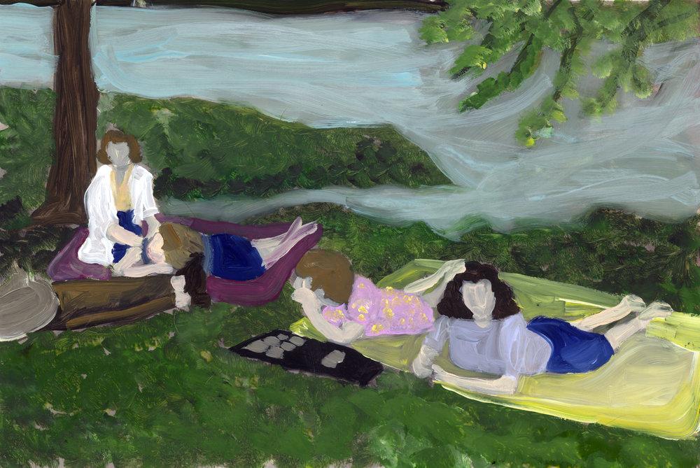 springtime picnics