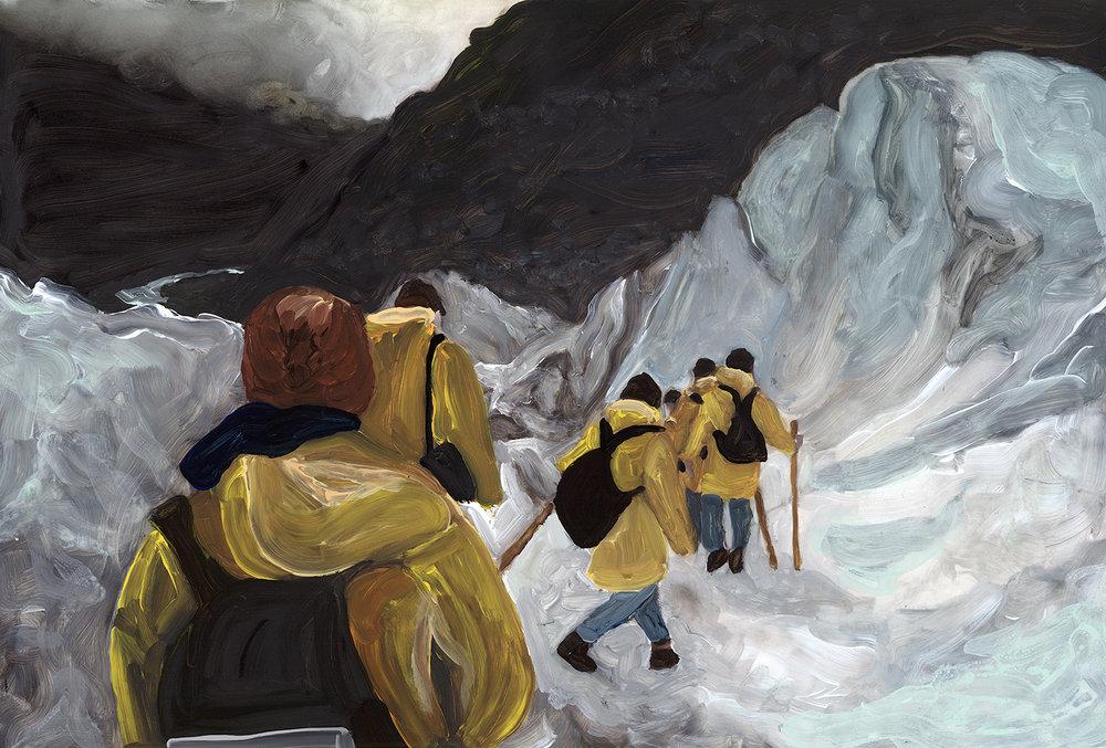 exploring fox glacier