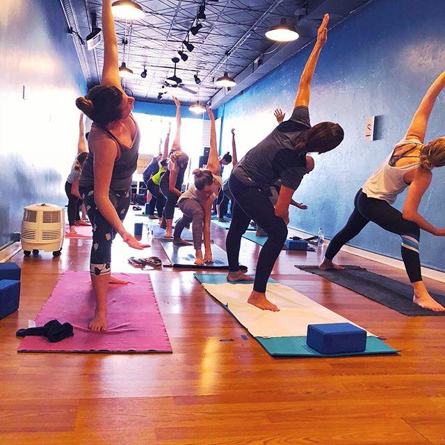 New to our studio? 30 days for $30 new student special. #ayo #AYOyogi . . . . . #yogaeverydamnday #yogafun #yogafit #yogainspiration #yogainspo #asana #mindbodysoul #savasana #yogafam #yogadaily #yogapractice #breathe #pghpoweryoga #poweryoga #pittsburgh #yogisofinstagram #goodvibesonly #lovelovelove #yogalove #yogavibes #yogaforeverybody #yogaart #yogafun #yogafamily #yogaluv