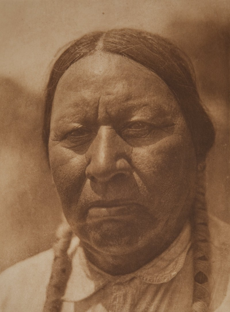 Oscar Makes Cry — Ponca (Edward Sheriff Curtis 1927)