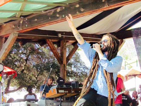 Veteran reggae ambassador Alborosie performing at Reggae On The Mountain in Topanga, CA in 2015.