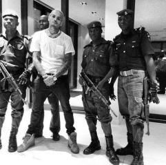 Chris Brown in Nigeria